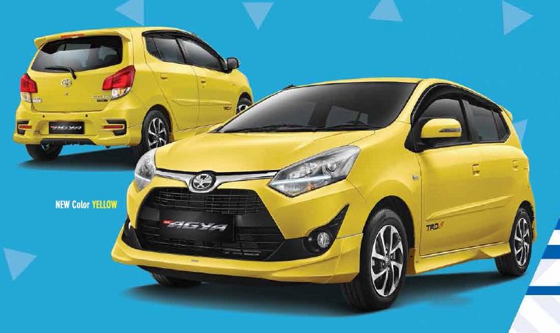 Harga Kredit Mobil Toyota Agya 2019 Brosur Promo Angsuran Dp Murah
