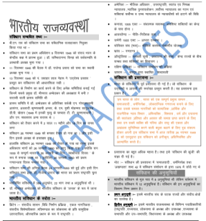 भारतीय राजव्यवस्था (Indian polity) Notes By Dhingra Cl assess