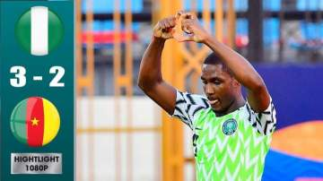 Afcon2019: Nigeria 3 - 2 Cameroon on July-06-2019, Africa Cup of Nations Highlight