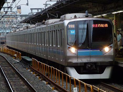 東京メトロ東西線 快速 西船橋行き1 05系LED