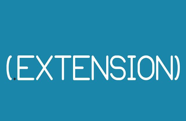 Cara memunculkan Ektensi file (Extentsion) Windows dengan sangat mudah
