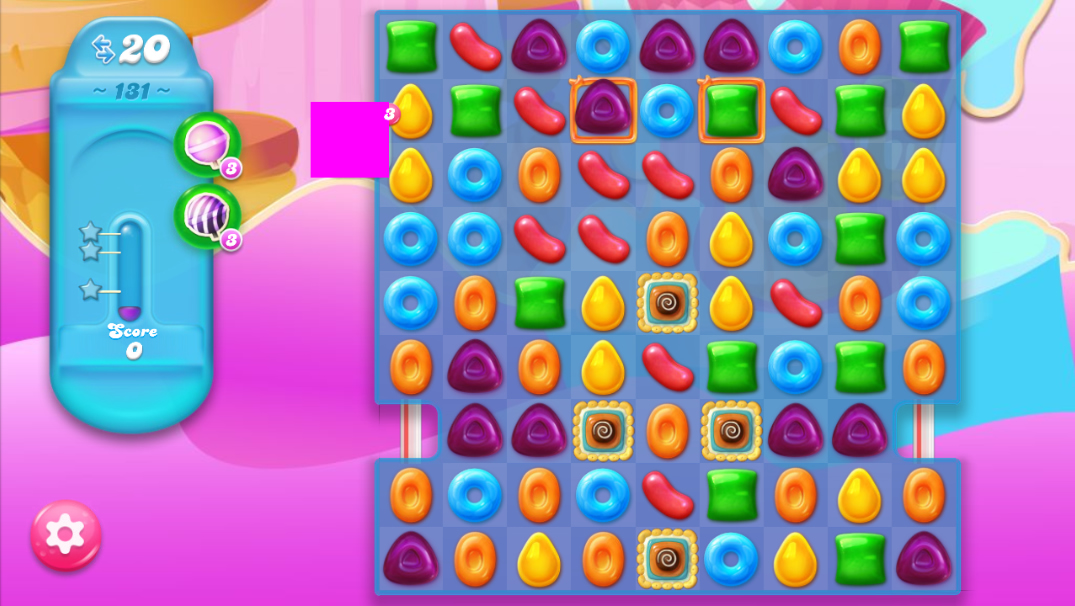 Candy Crush Jelly Saga 131