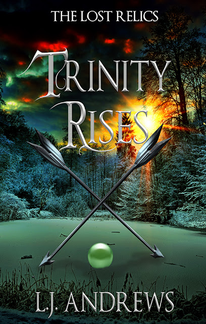 COVER REVEAL- Book 2 Trinity Rises