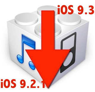 Cara Downgrade iOS 9.3 ke iOS 9.2.1 di iPhone dan iPad