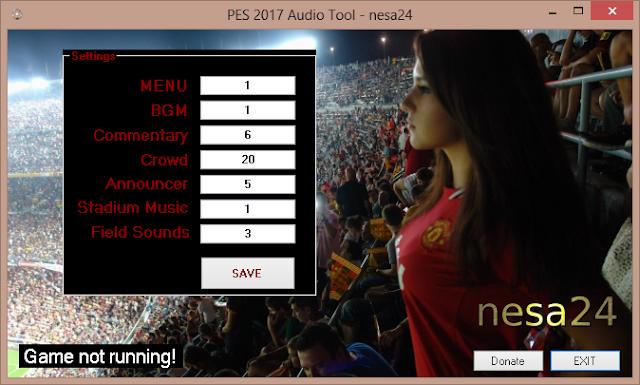 [PES2017] PES17 Audio Tool v1- nesa24