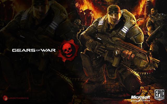 La série Gears of War plonge les joueurs dans une lutte pour la survie contre la Horde des locustes, des créatures monstrueuses issues des entrailles de la planète.