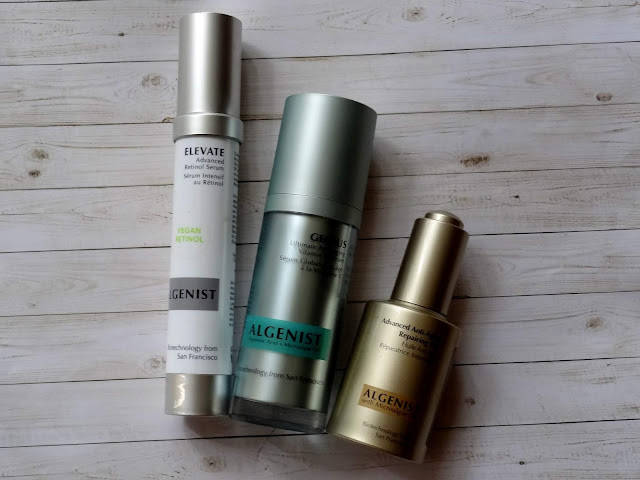 Algenist Reviews - Elevate Advanced Retinol Serum, Genius Ultimate Vitamin C Serum, Advanced Anti-Aging Repairing Oil