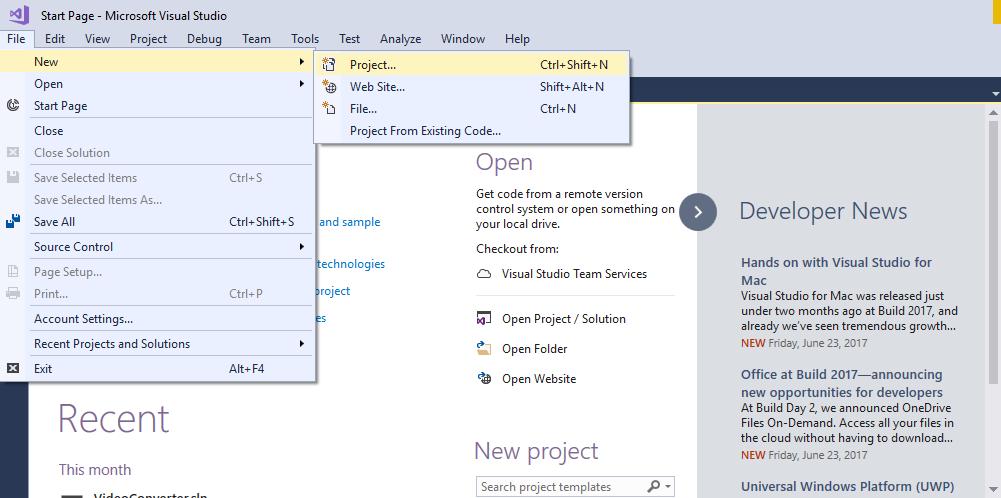 Web API tutorial 2 Creating a new Asp  net Web API project - Online