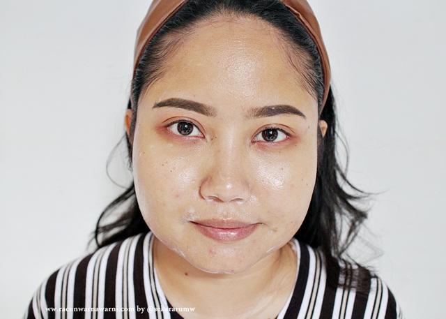 first cleaser dilanjutkan dengan avoskin facial wash