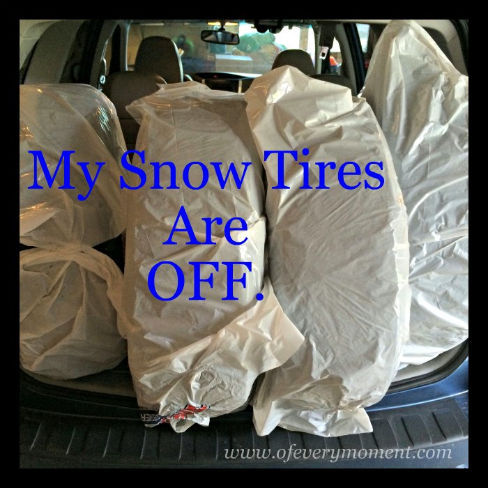 snow tires, spring