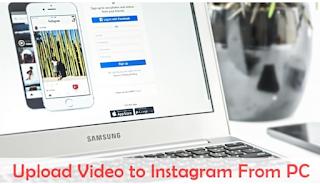 Cara Upload Video ke Instagram Dari PC  atau Laptop