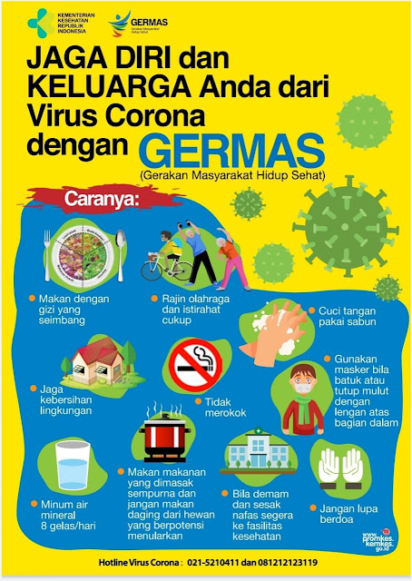 Cara sederhana dan mudah untuk mencegah corona