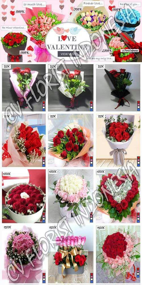 Paket Bunga Mawar Valentine 2018