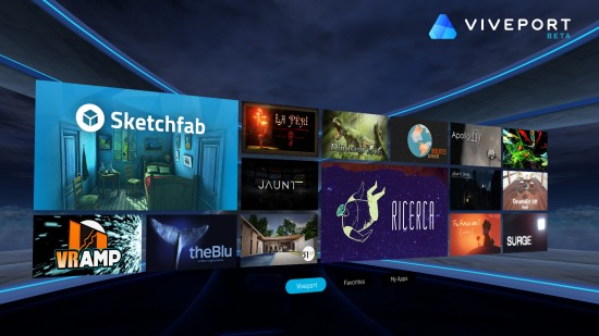 HTC launches Viveport virtual reality (VR) app store