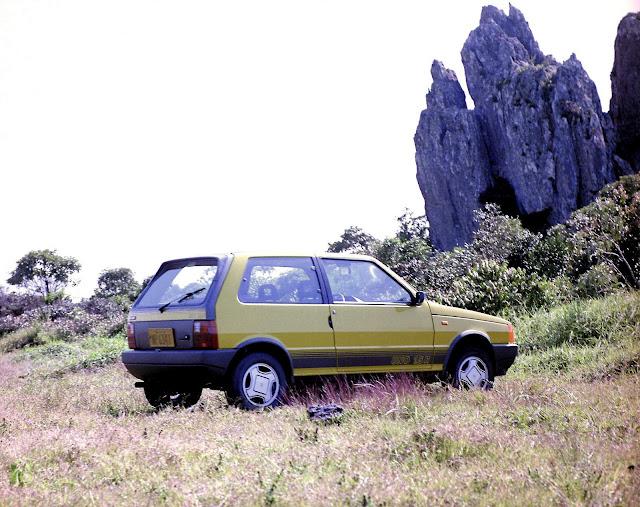 Fiat Uno - modelo mais produzido