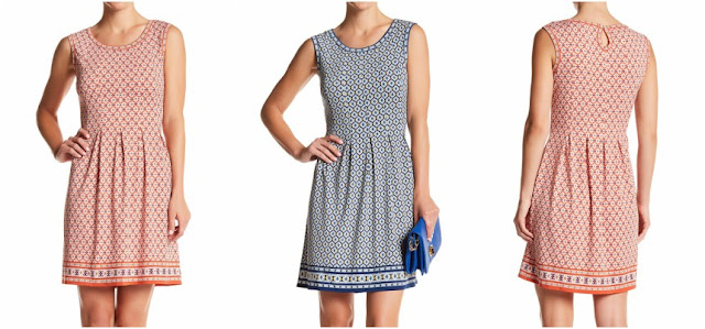 Max Studio Print Fit & Flare Dress $30 (reg $98)