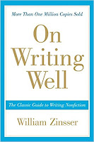 On Writing Well William Zinsser (from Amazon)