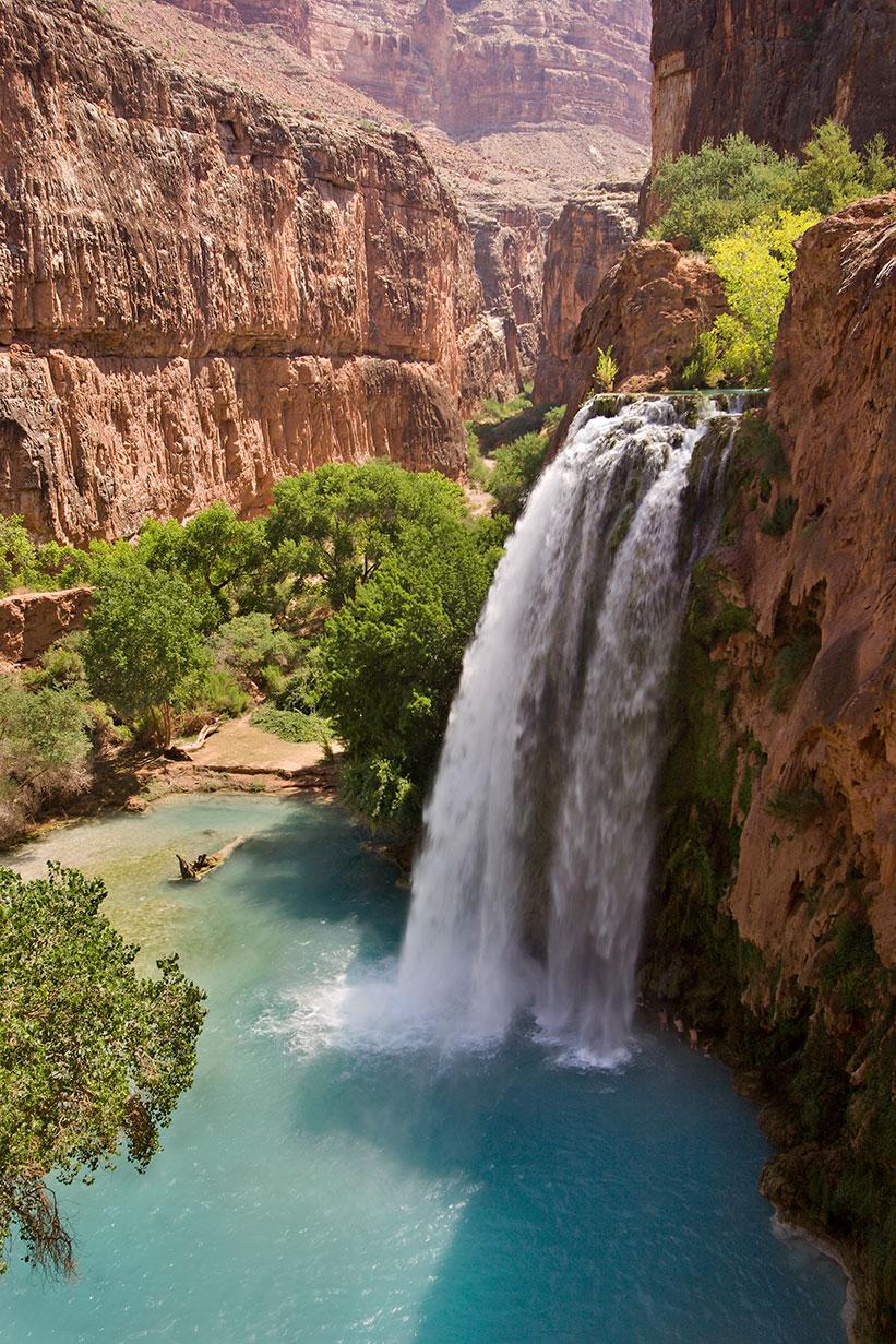 Sitios Mágicos Naturales, Las Cataratas de Havasu en Arizona, Estados Unidos. 1