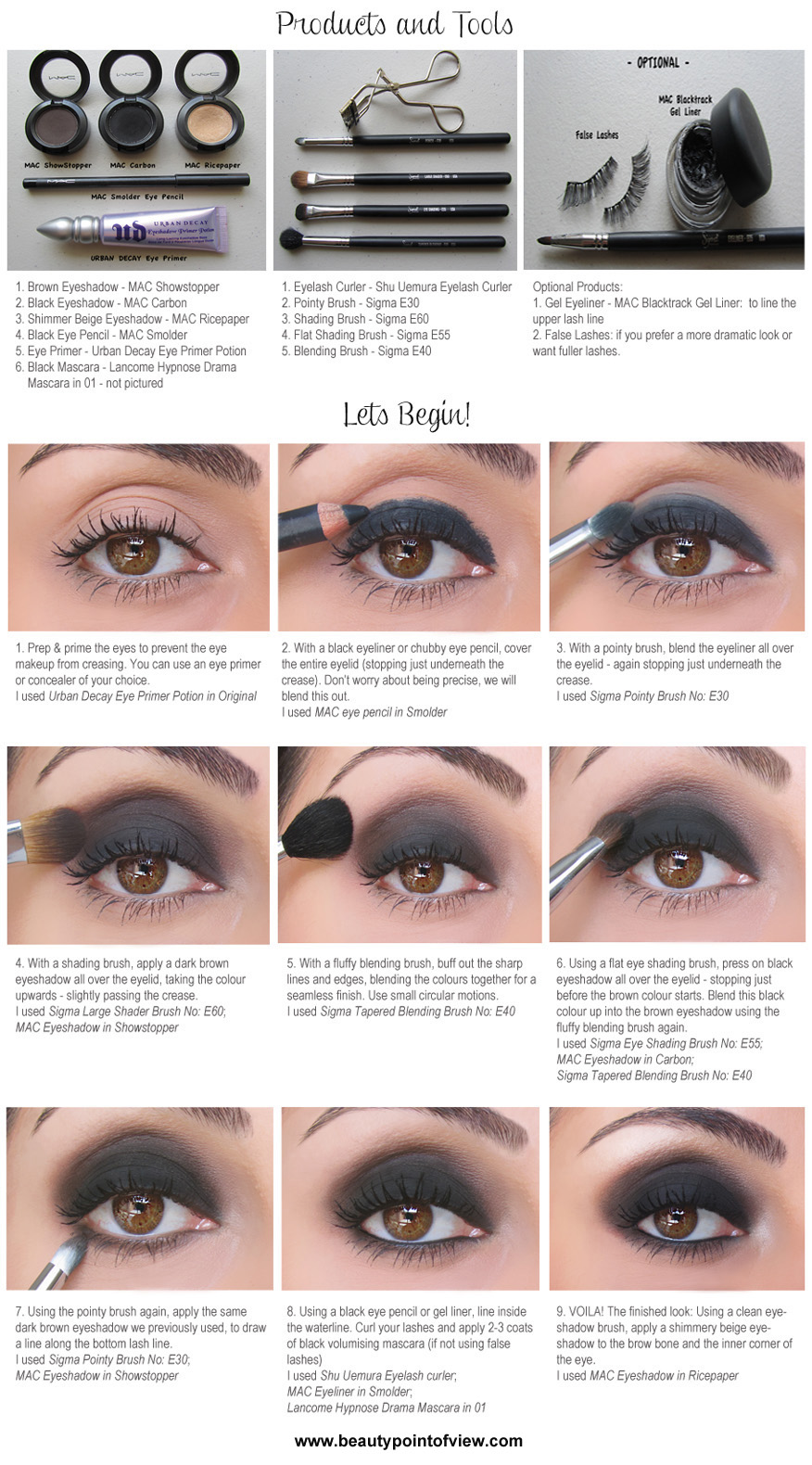 """b15afaa9008 Well, today we are going to share with you another post which is entitled """"Dark  Chocolate Smokey Eye Tutorial"""". Look at this below and share with friends."""