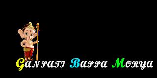 Ganpati Bappa Morya PNG Effects