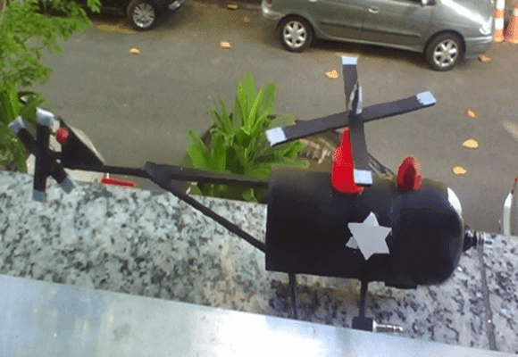 Curtir-Helicóptero-de-ação-policial