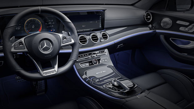 2018 New Mercedes E63S Wagon Review interior dashboard
