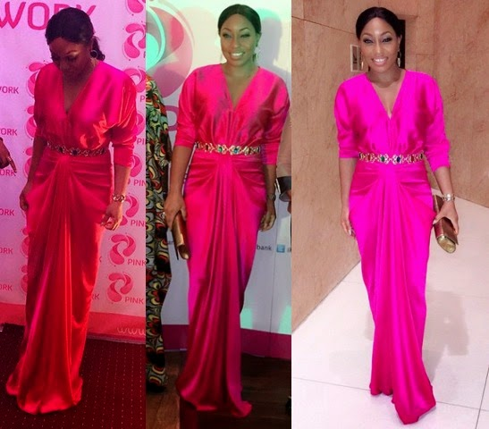 60a4b6346b2 POPULAR NIGERIAN ACTRESS RITA DOMINIC IS A GODDESS IN HOT PINK OUTFIT