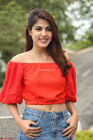Rhea Chakraborty in Red Crop Top and Denim Shorts Spicy Pics ~  Exclusive 307.JPG