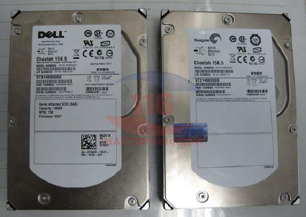 Cứu dữ liệu máy chủ DELL ổ cứng ST3146855SS