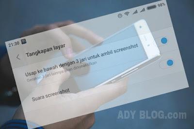 3 Cara Mengambil Screenshot di Xiaomi Semua Tipe
