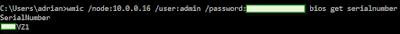 "Ejecución remota de ""wmic /node"""