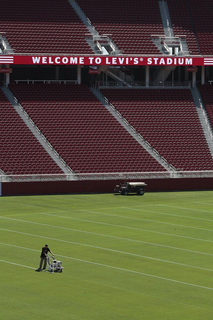 Levi's Stadium Superbowl dettagli