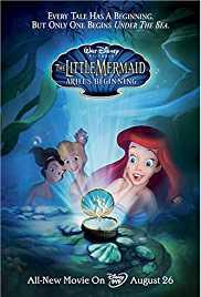 The Little Mermaid 3 Ariel's Beginning (2008) BRRip 480p 250MB Dual Audio ( Hindi - English ) MKV