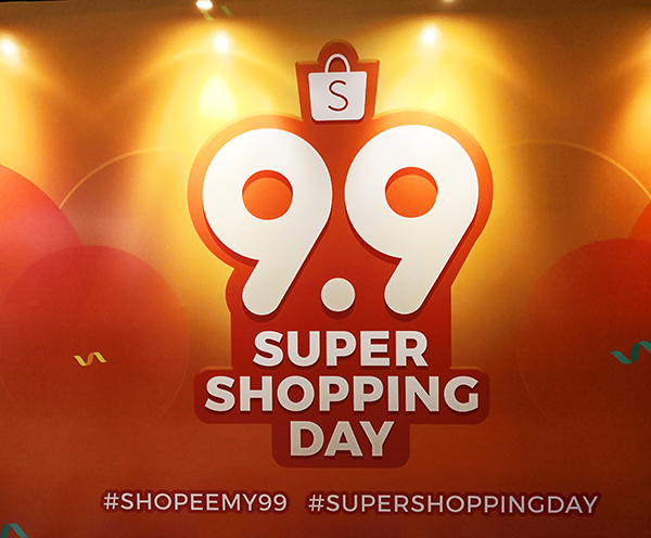 Super Shopping Day of Shopee 9.9 Sale