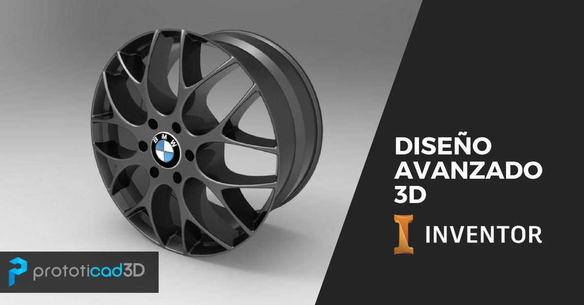Diseño Avanzado 3D con Inventor