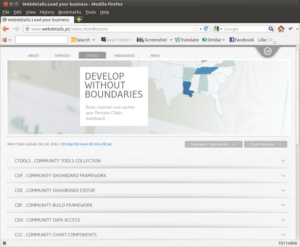 Open design and architecture: Install Community Dashboard