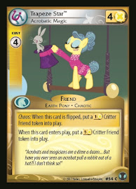 My Little Pony Trapeze Star, Acrobatic Magic Defenders of Equestria CCG Card