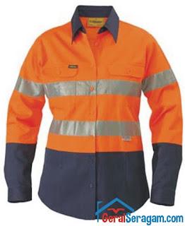 baju proyek dengan scoutlight