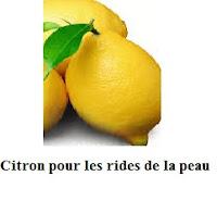 Citron tonique général