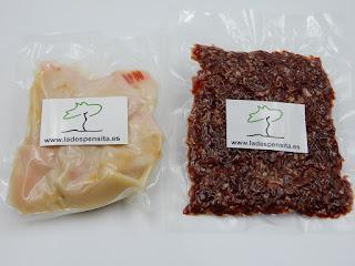 Paquetitos de 100 gr La Despensita de Jamón y Tocino Ibérico