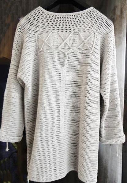 pulower męski szydełkiem