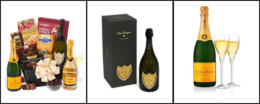 Champagne Truffles Gift Basket