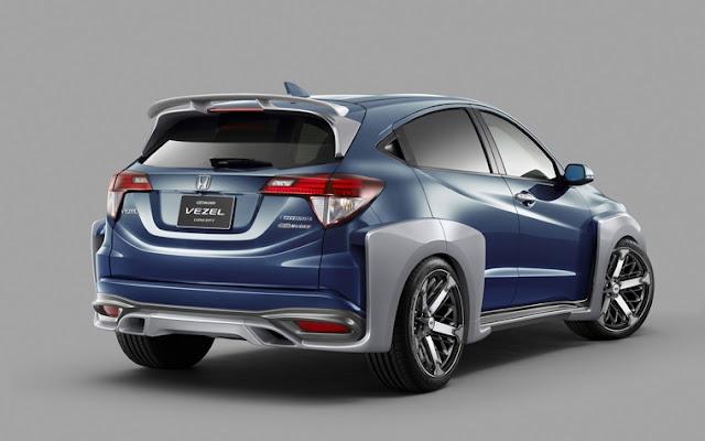 Modifikasi Honda HR V3 Elegan