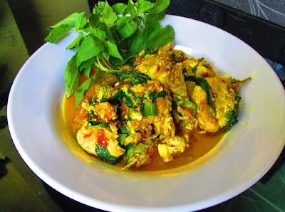 Gambar Resep Ayam Kemangi Ala Thailand