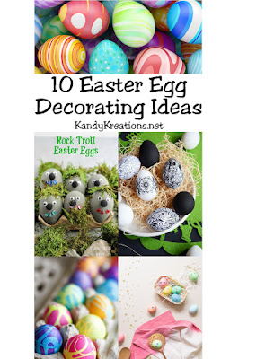 Try some new and fun Easter egg decorating ideas with these 10 fun decoration ideas.  You're kids will love it as much as you do.