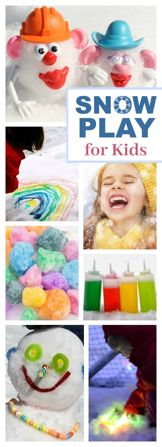 25 AWESOME ACTIVITIES FOR WHEN IT SNOWS.  These are so cool!  Can I be a kid again please?