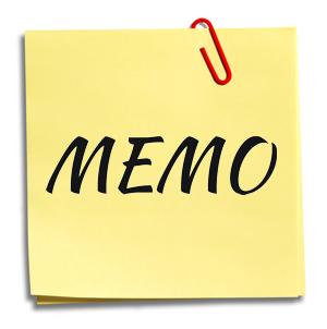 Contoh Memo Dalam Bahasa Inggris Dan Artinya