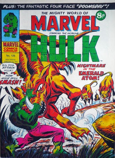 Mighty World of Marvel #125, Hulk