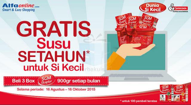 Dapatkan Promo Susu SGM Di Online Maupun Offline