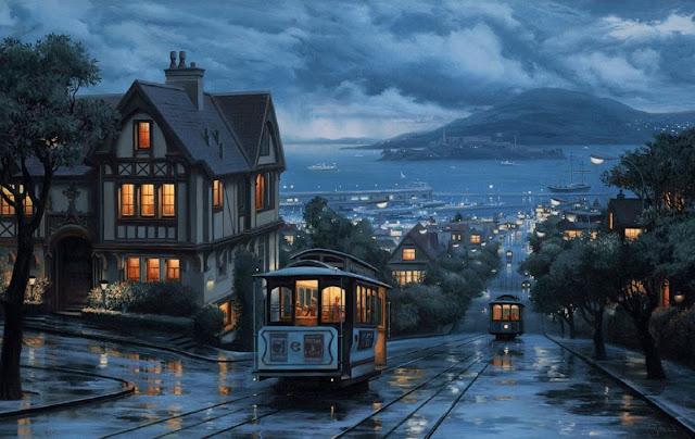 صور خلفيات أمطار رومانسية حزينة Sad Romantic Rain Images